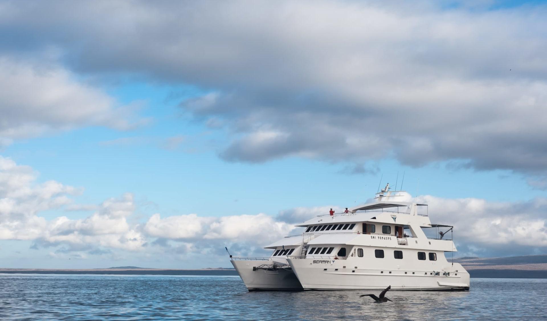 M/C Seaman Journey ab Puerto Ayora: MC Seaman Journey