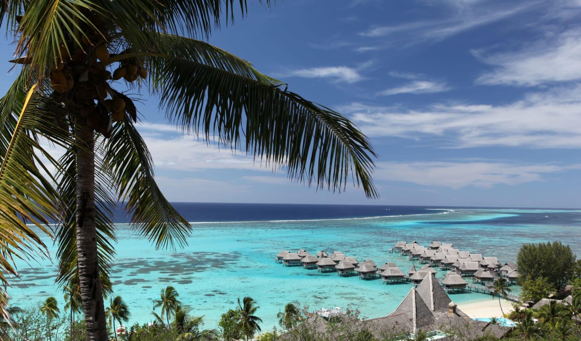 Sofitel Moorea Ia Ora Beach Resort Hotel:  MOZ Sofitel Moorea Aerial View 3