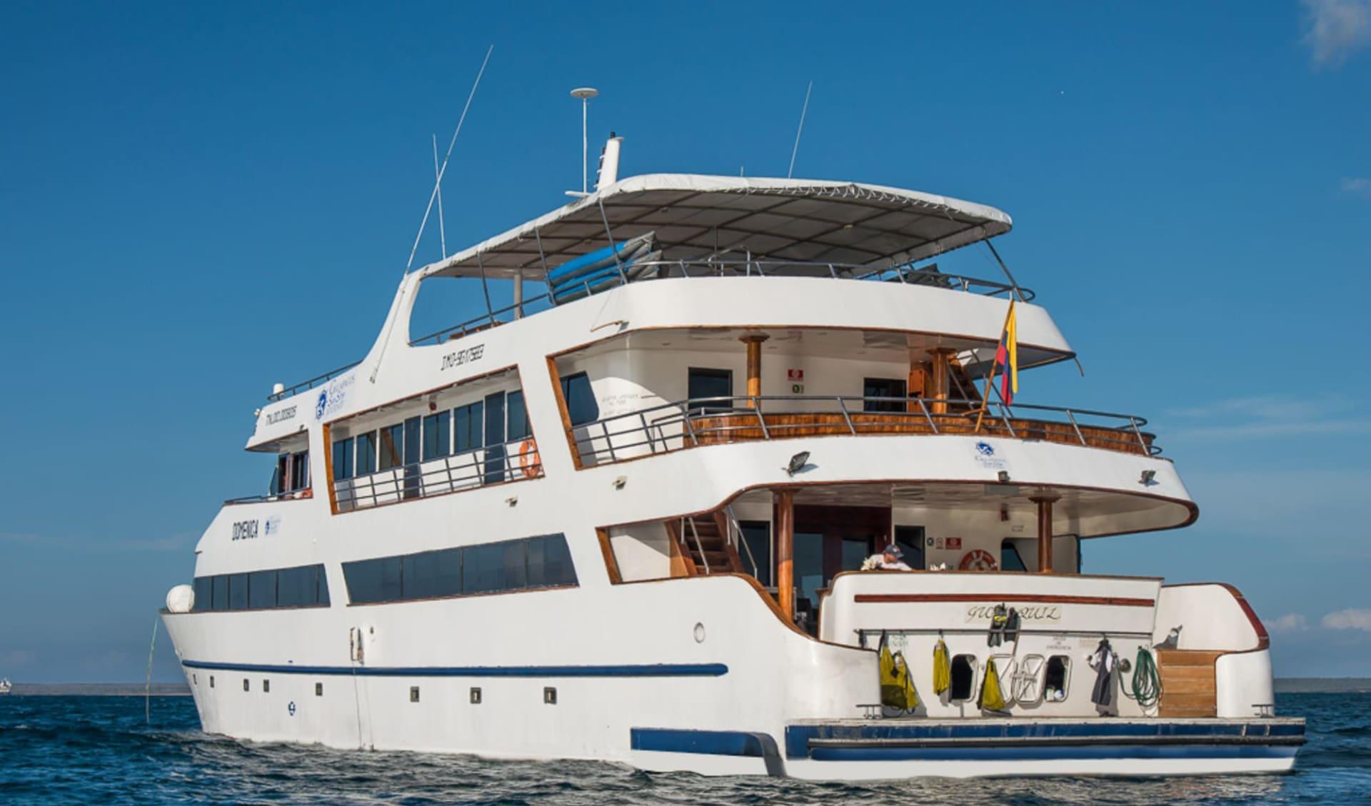 M/Y Sea Star Journey ab Puerto Ayora: MY Sea Star Journey