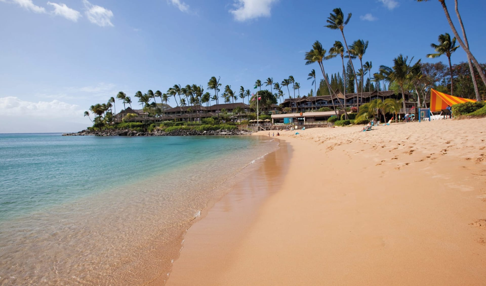 Napili Kai Beach Resort in Napili - Maui: Napili Kai Beach Resort - Aussenansicht