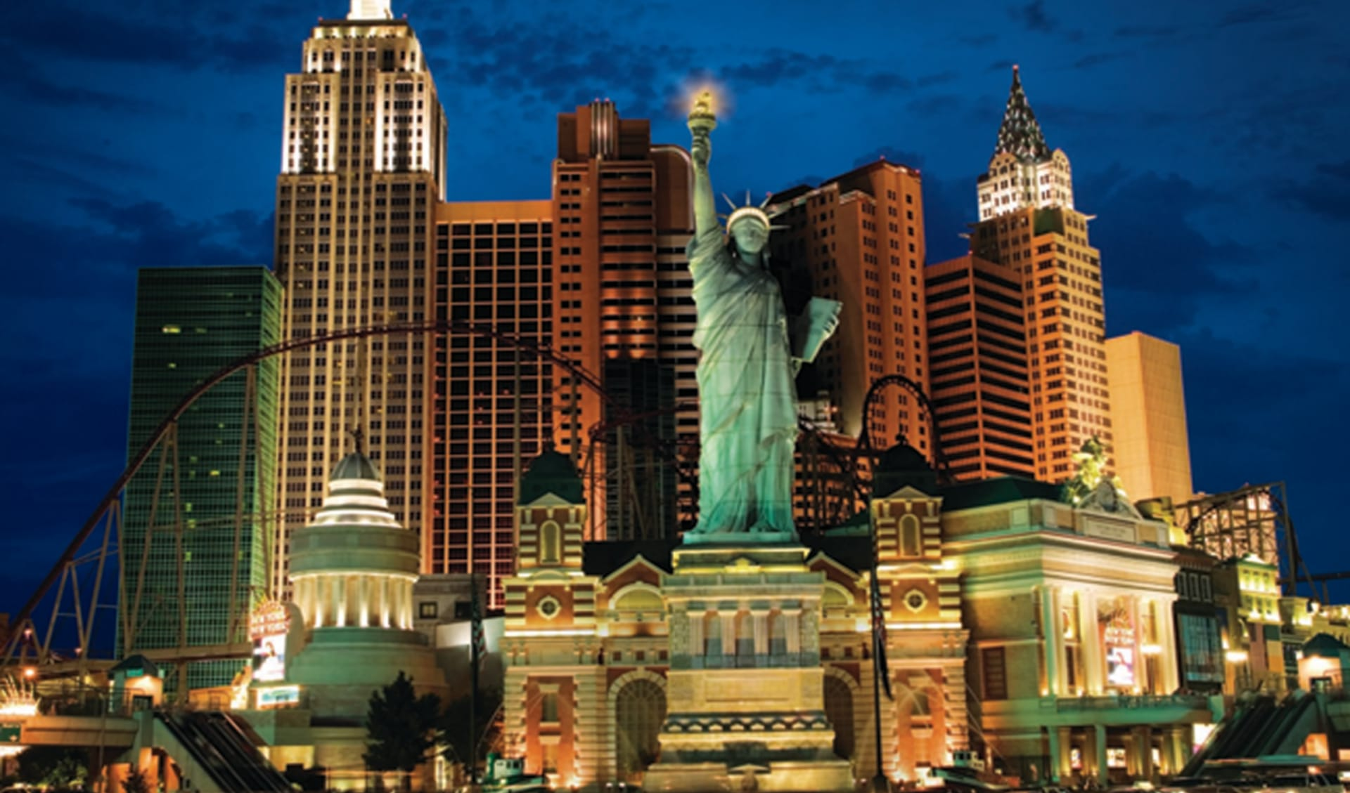 New York New York in Las Vegas:  New York New York - Freiheitsstatue