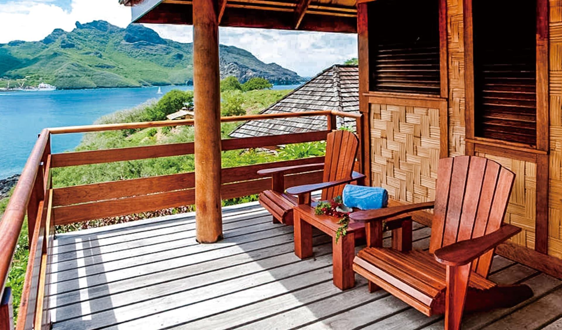 Keikahanui Lodge in Taiohae:  NHV Htl Keikahanui - Bungalow 13