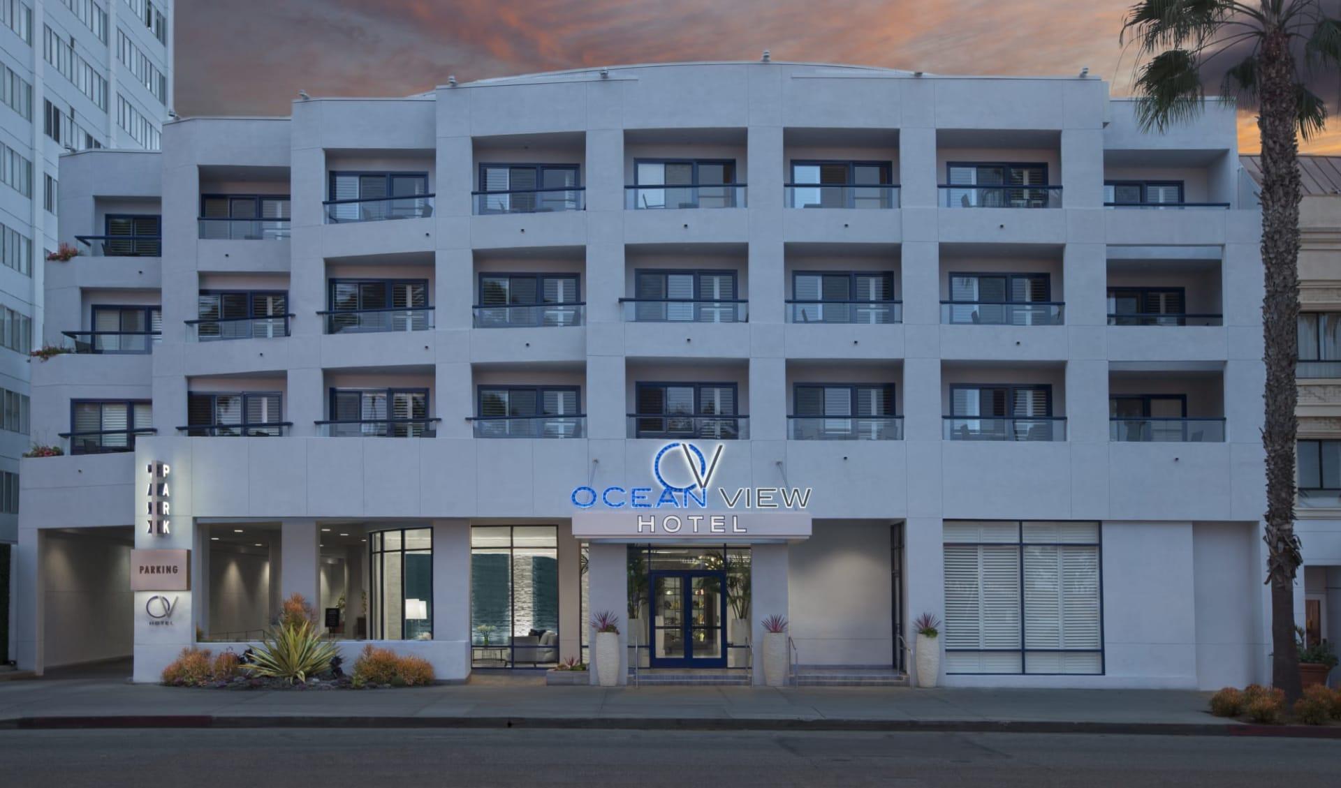 Ocean View Hotel Santa Monica:  Ocean View Hotel - Aussenansicht