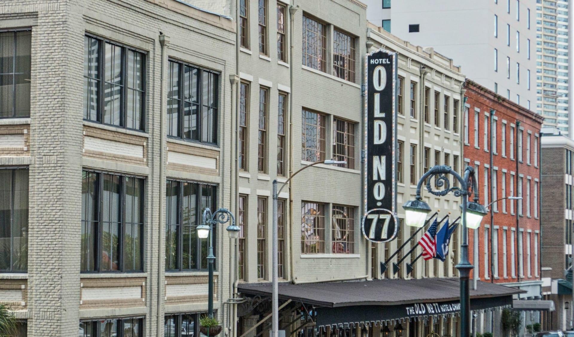 Old No. 77 Hotel & Chandlery in New Orleans:  Old No. 77 - Aussenansicht