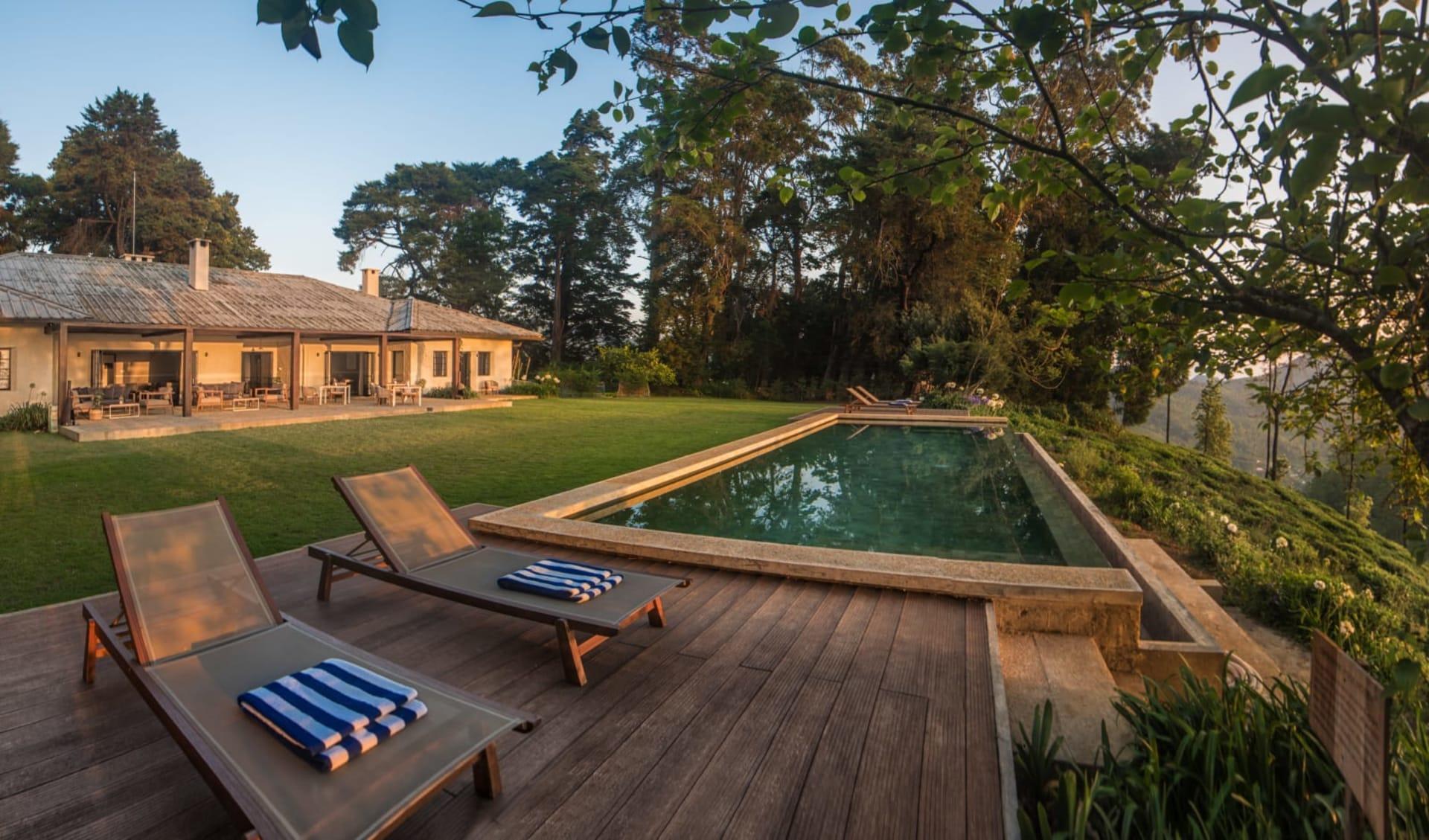 Goatfell in Nuwara Eliya: Panorama Garden and Pool