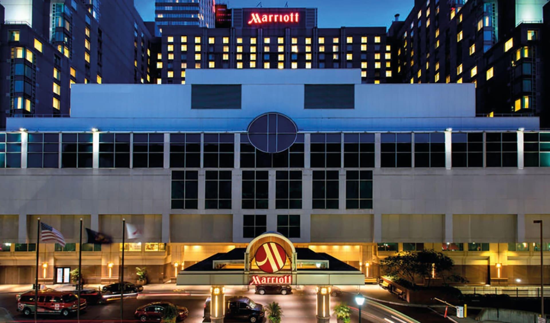 Philadelphia Marriott Downtown:  Philadelphia Marriott Downtown - Aussenansicht