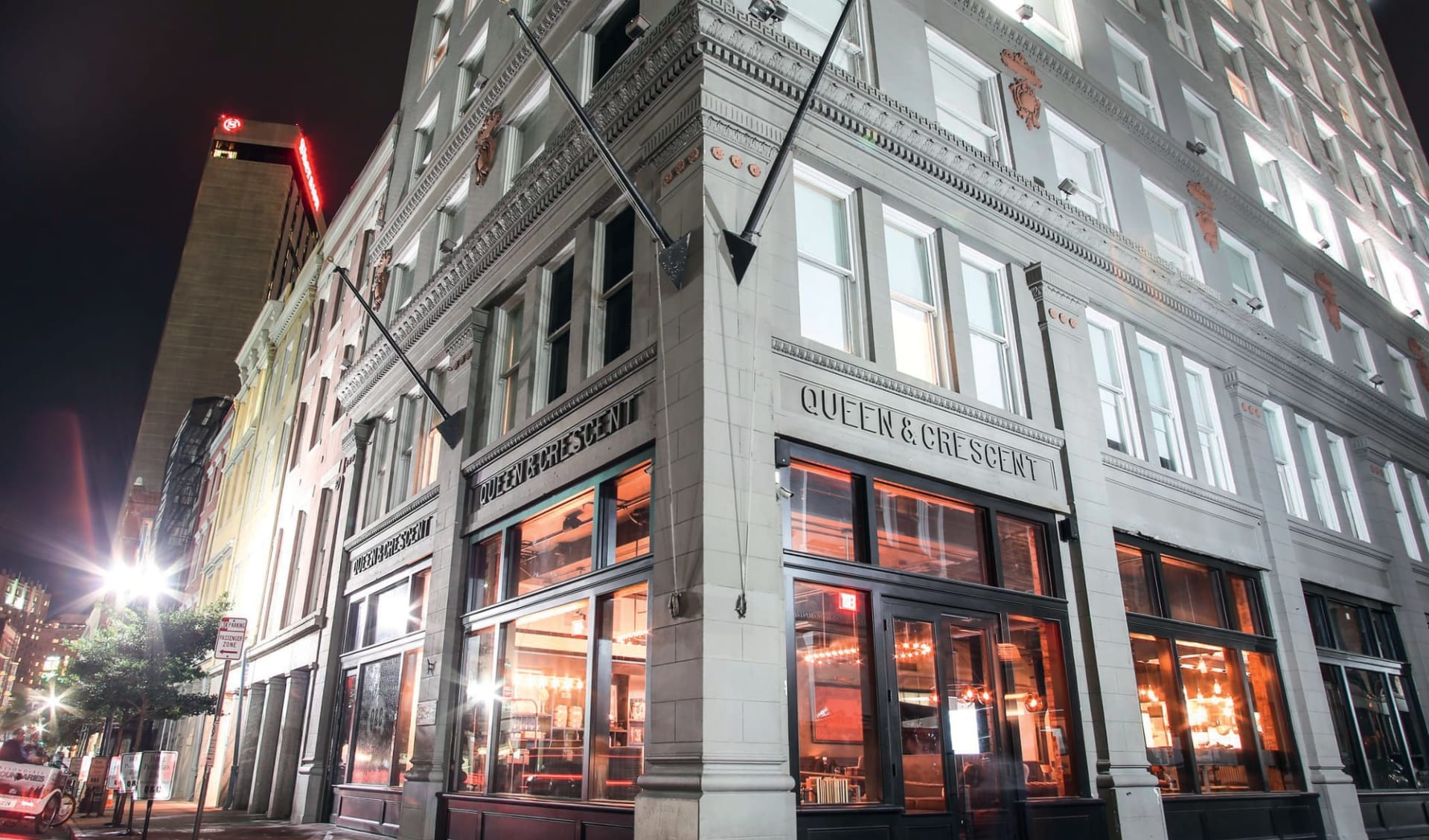 Q & C Hotel in New Orleans: exterior Q and C hotel new orleans hotelansicht