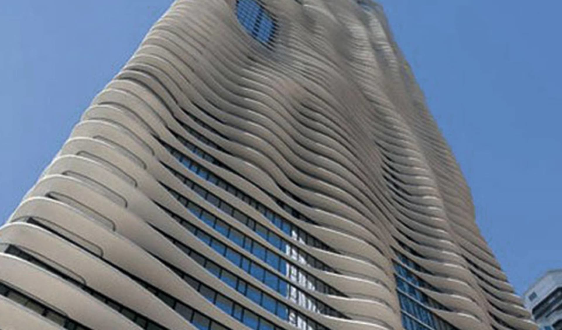 Radisson Blu Aqua Hotel Chicago:  Radisson Blu Aqua - Hotelansicht