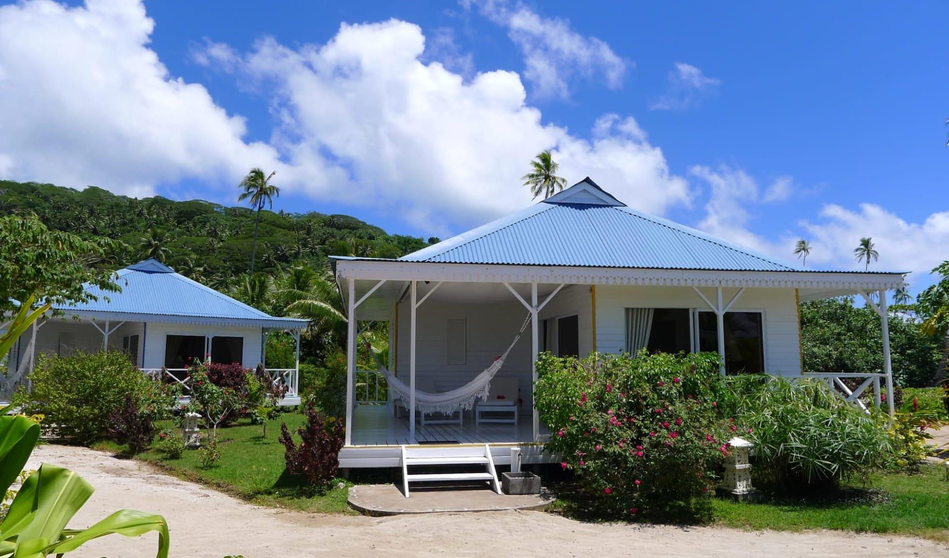 Hôtel Opoa Beach in Raiatea:  RFP Htl Opoa Beach Bungalows 44