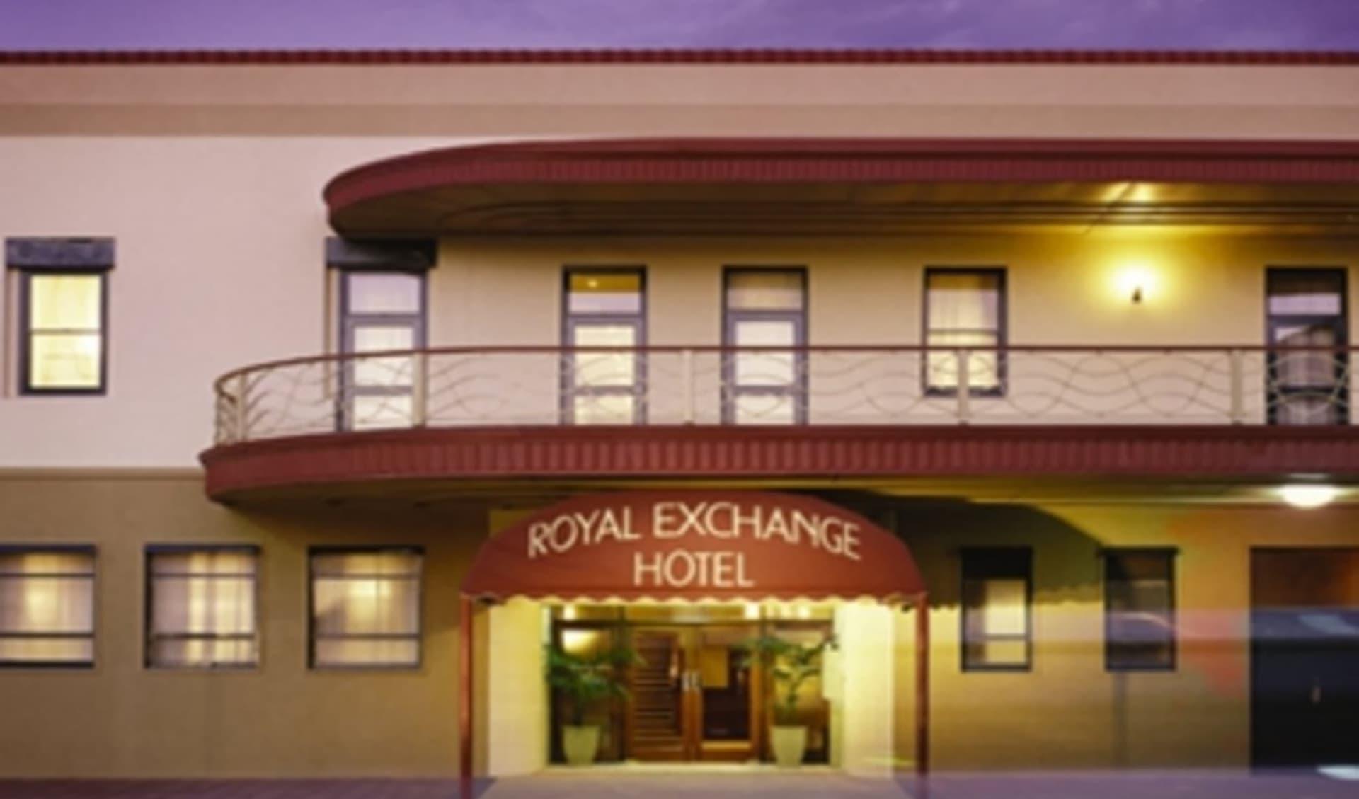 Royal Exchange Boutique Hotel in Broken Hill:  Royal Exchange Broken Hill