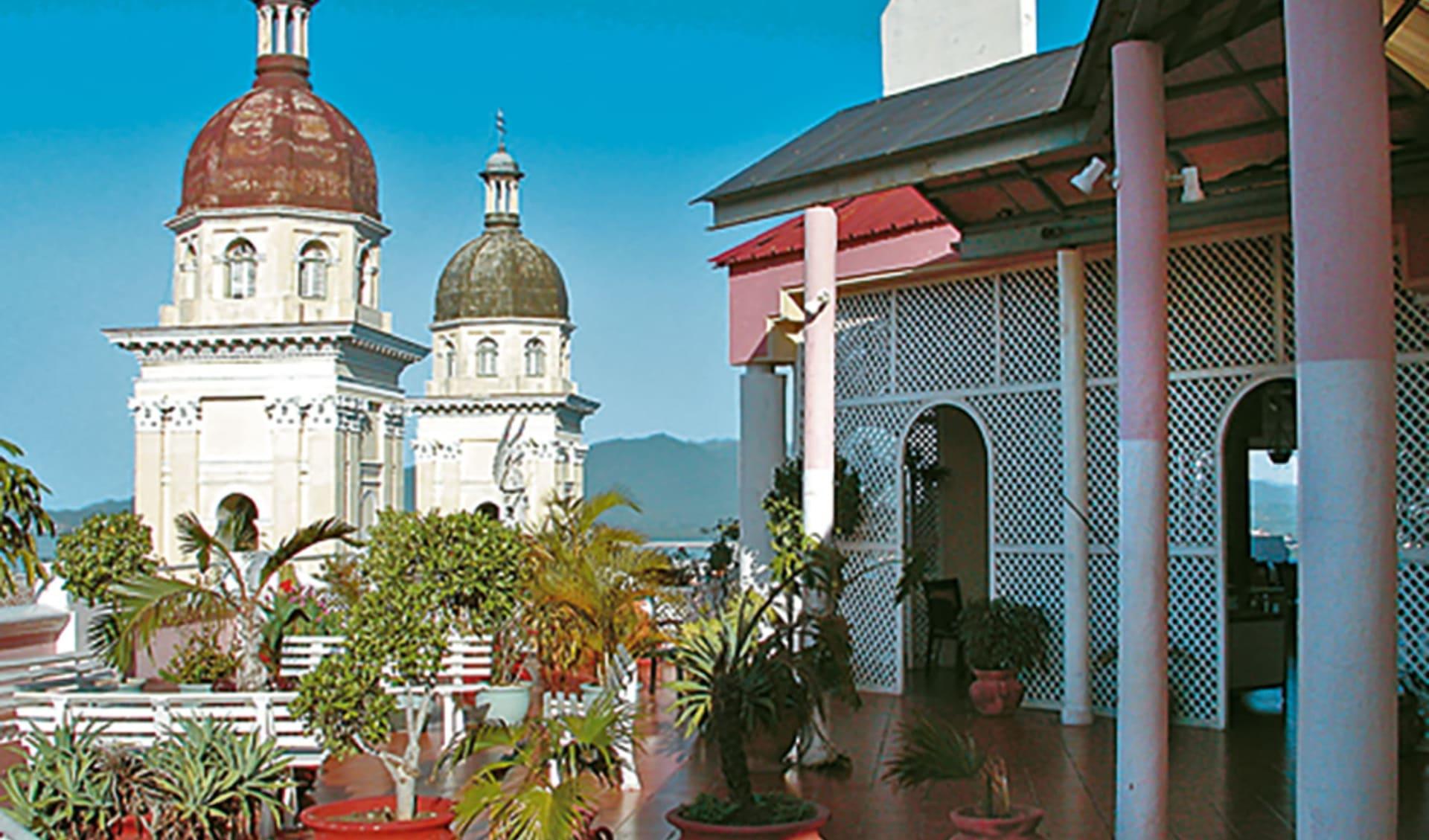 Casa Granda in Santiago de Cuba:  Santiago de Chile_Casa Granda_Dach
