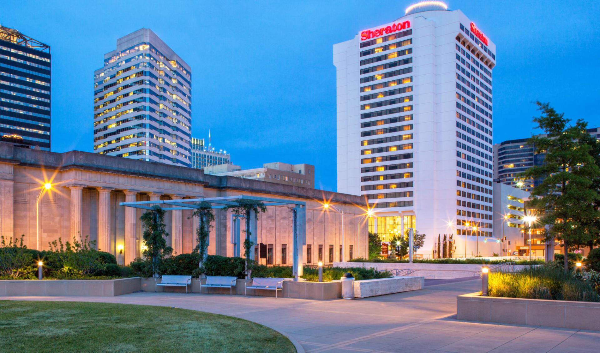 Sheraton Nashville Downtown:  Sheraton Nashville Downtown - Aussenansicht