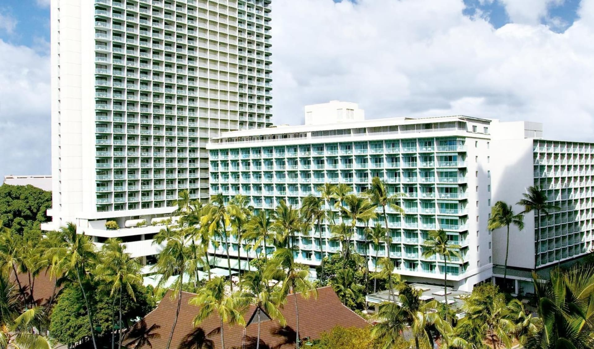 Sheraton Princess Kaiulani in Honolulu - Oahu: Exterior_Sheraton Princess Kaiulani_Aussenansicht_Bonotel