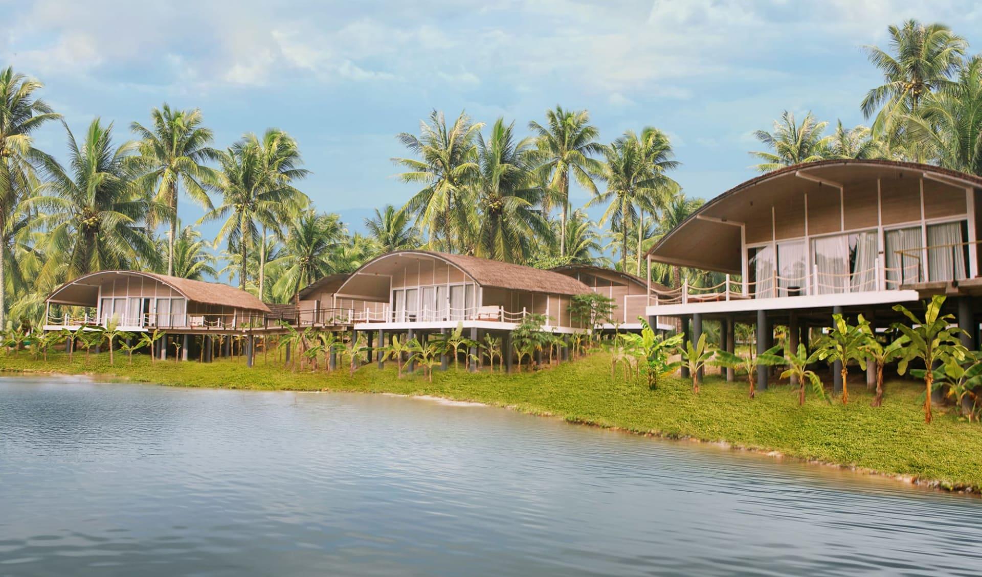 Taj Exotica Resort & Spa in Andamanen: Taj-Exotica Resort | from outside