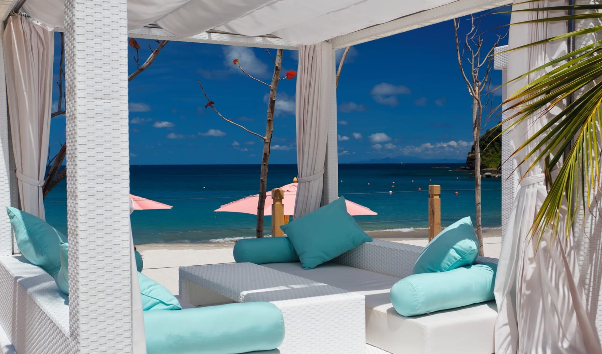 The Body Holiday Resort St. Lucia in Cariblue Beach: Exterior The Body Holiday - Beach Cabana c ClearMarketing