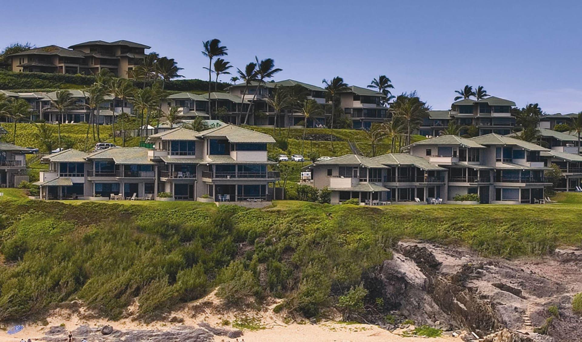 The Kapalua Villas in Kapalua - Maui: exterior the kapalua villas strand