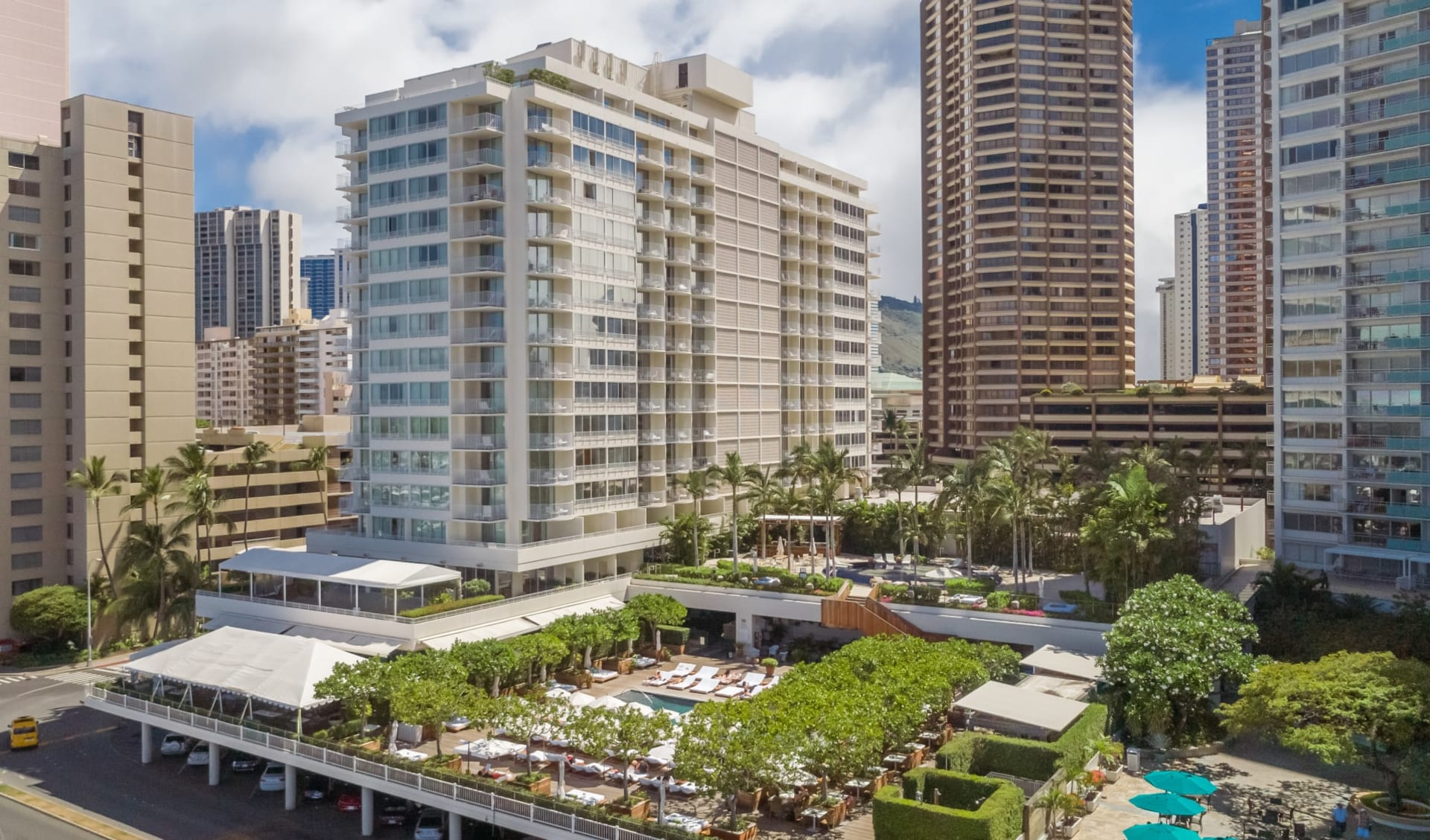 The Modern Honolulu in Honolulu - Oahu:  The Modern Honolulu_Aussenansicht