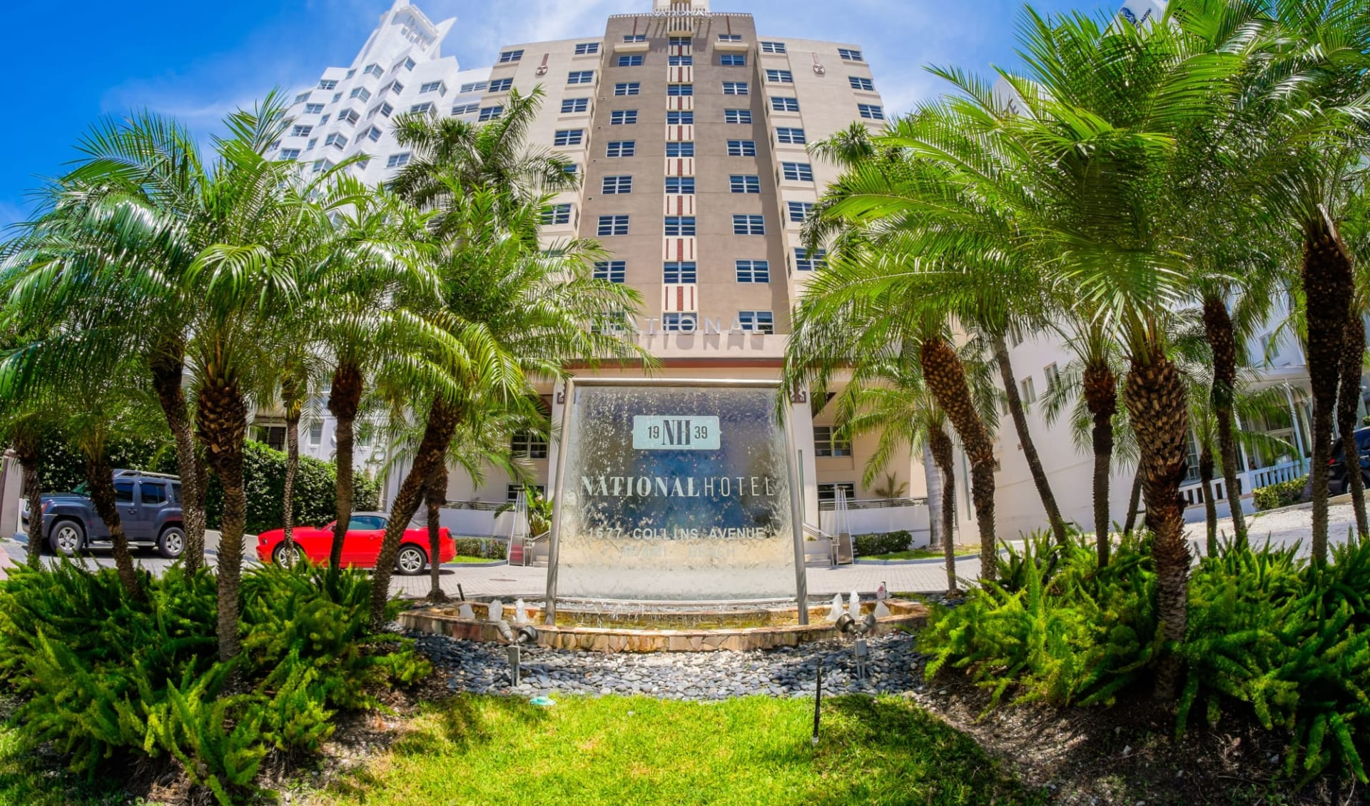 The National Hotel in Miami Beach:  The National MIA - Aussenansicht