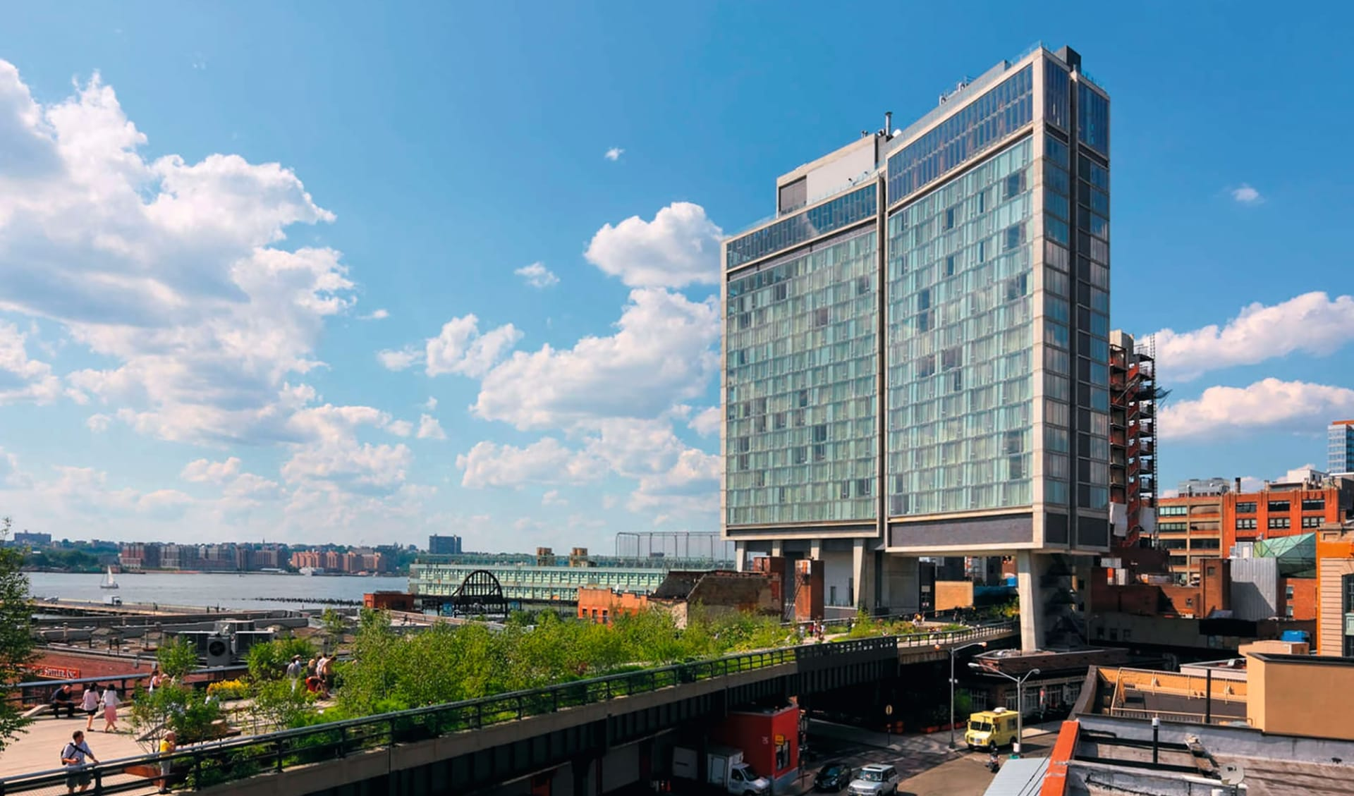 The Standard High Line New York in New York - Manhattan:  The Standard High Line - Ansicht