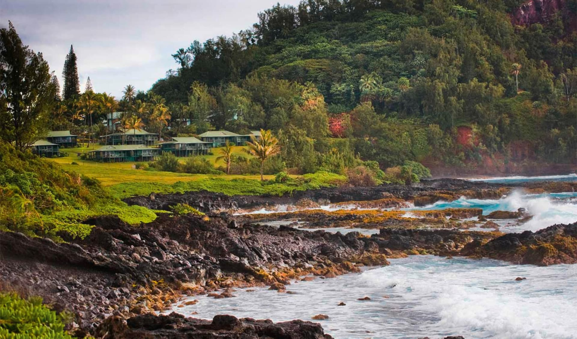 Hana Maui Resort in Hana - Maui:  Travaasa Hana - Aussenansicht
