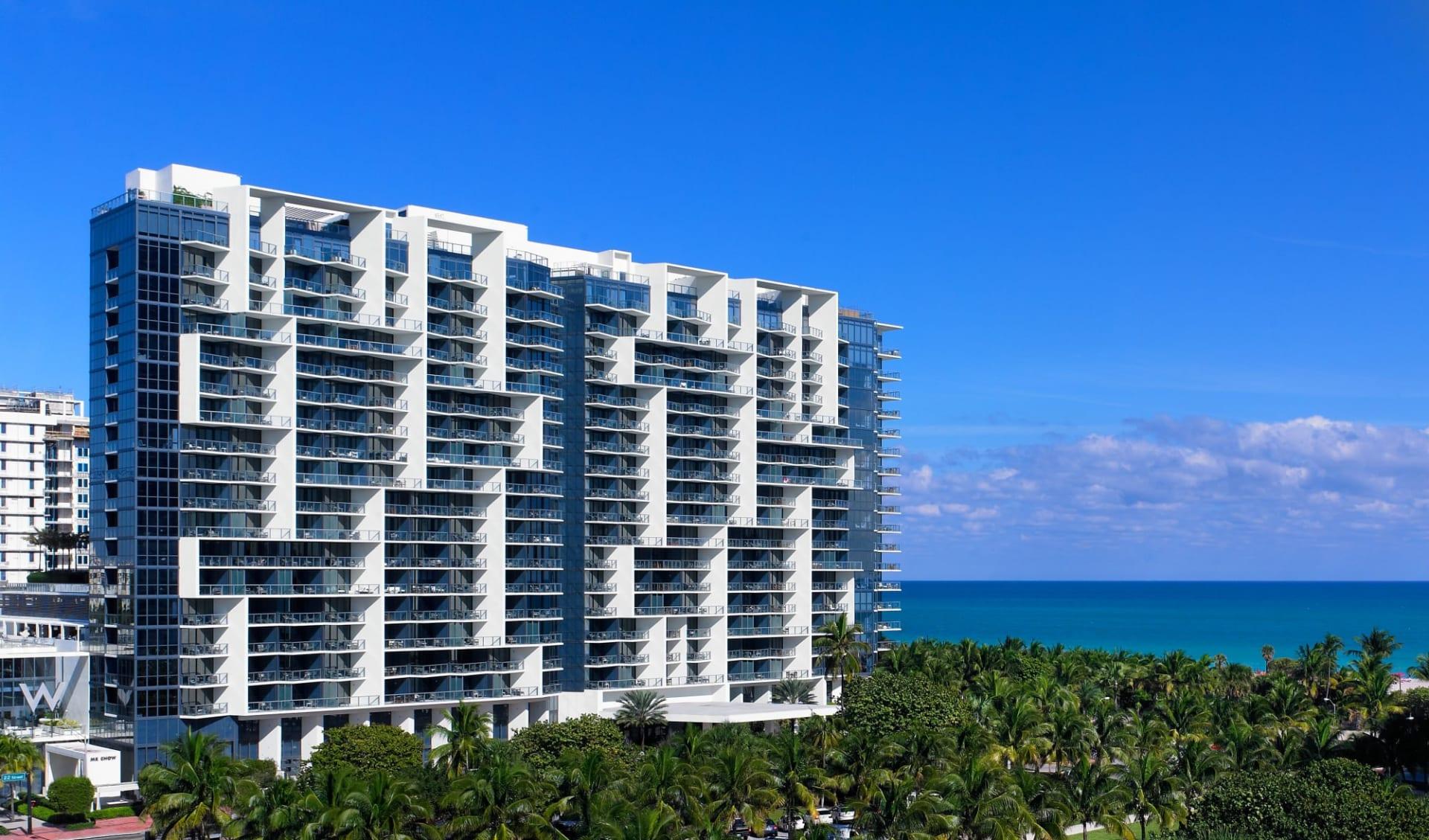 W South Beach in Miami Beach: Aussenansicht