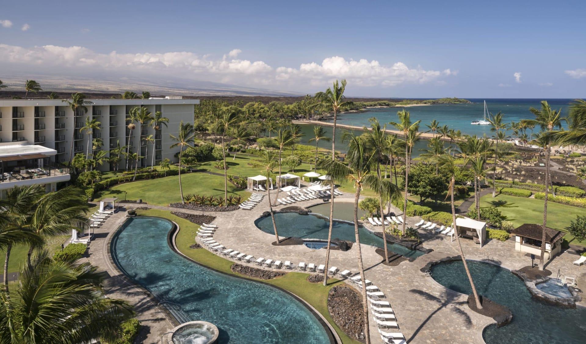 Waikoloa Beach Marriott Resort & Spa: Waikoloa Beach Marriott_Areal View_Hotelchain