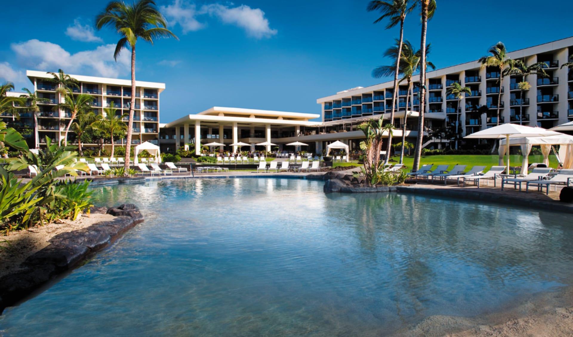 Waikoloa Beach Marriott Resort & Spa: exterior waikoloa beach marriott resort and spa hotelanlage