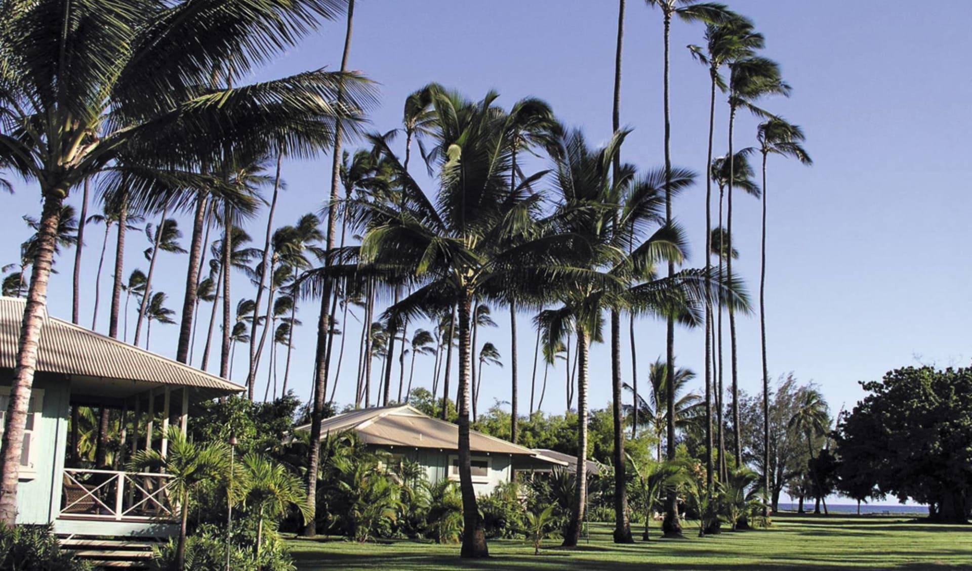 Waimea Plantation Cottages in Waimea - Kauai: exterior waimea plantation cottages garten