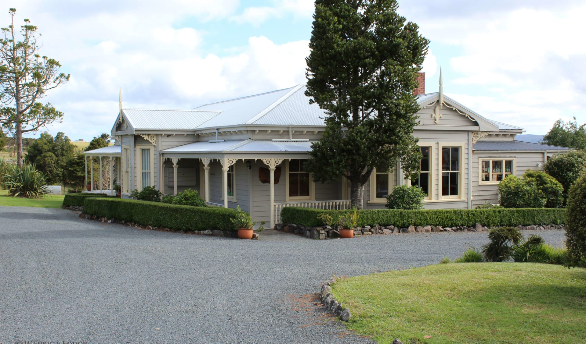 Waipoua Lodge in Dargaville:  Waipoua Lodge - Ansicht