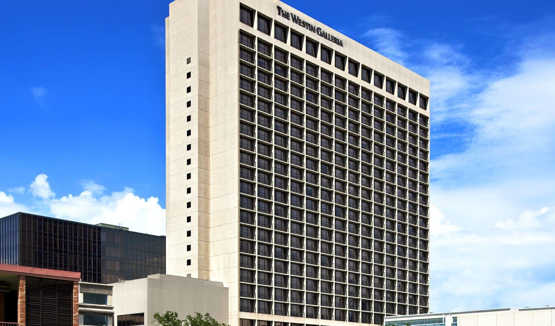 The Westin Galleria in Houston:  Westin Galleria - Aussenansicht
