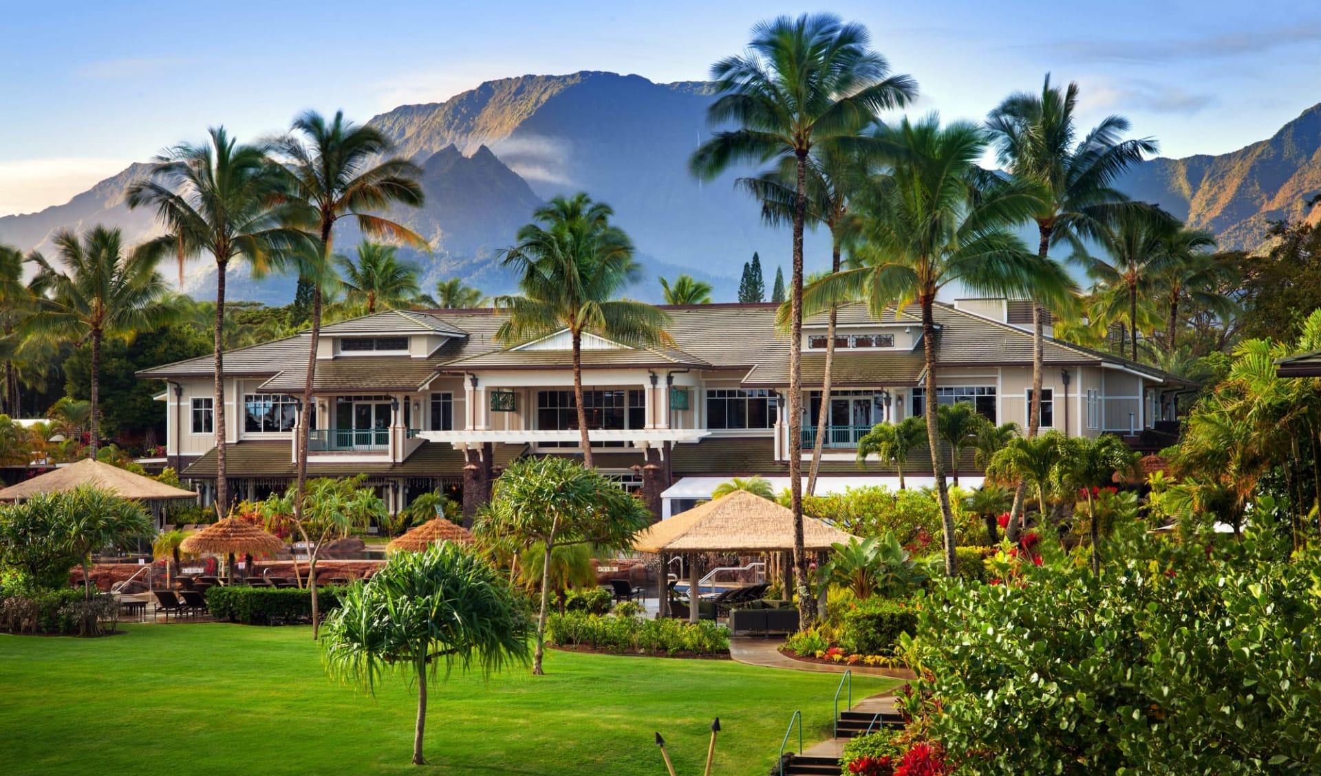 The Westin Princeville Ocean Resort in Princeville - Kauai: Exterior_Westin Princeville_Aussenansicht_Hotelchain