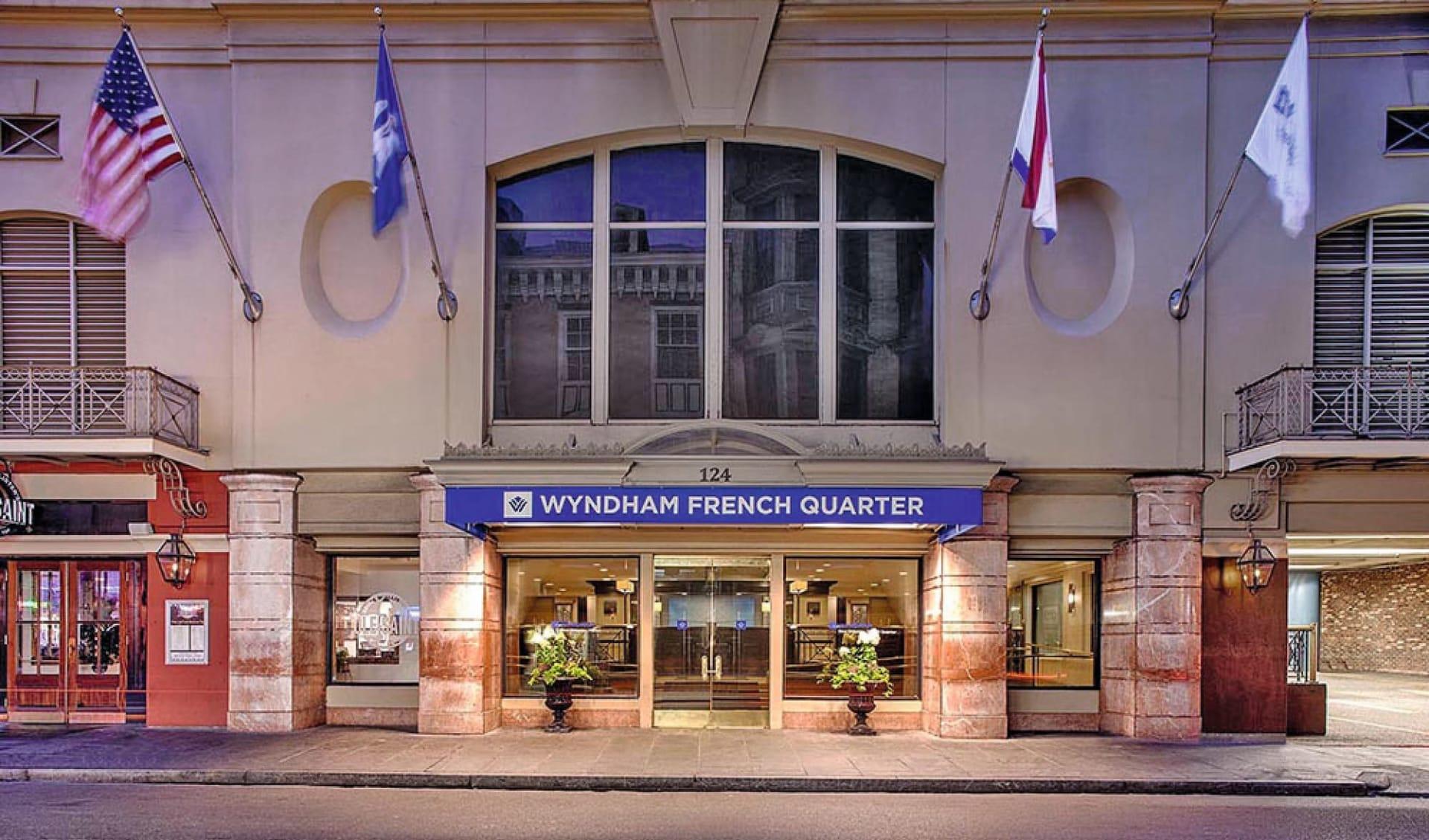 Wyndham New Orleans French Quarter:  Wyndham New Orleans French Quarter - Hoteleingang