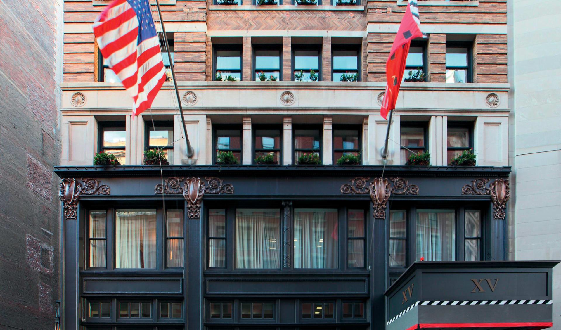 XV Beacon Hotel in Boston: exterior xv beacon hotel vorderseite hotel autos