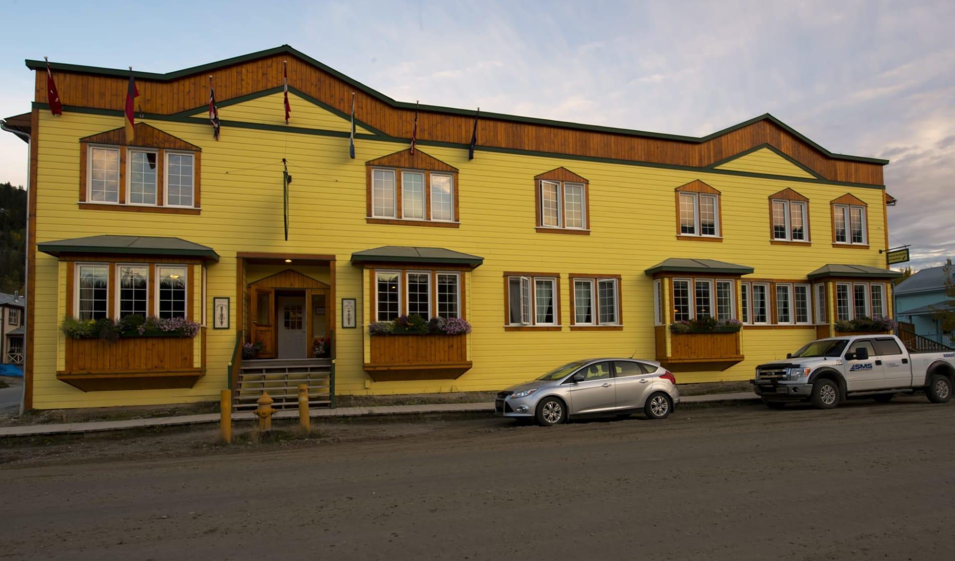 Aurora Inn in Dawson City:  YDAAI_exterior_002