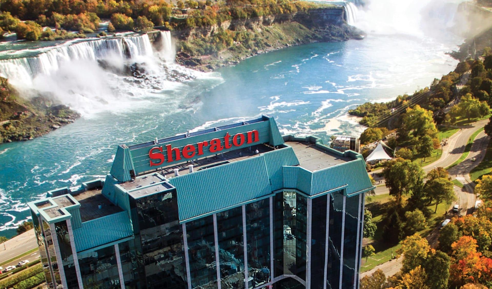 Sheraton Fallsview Hotel in Niagara Falls:  YNFQI_exterior_001