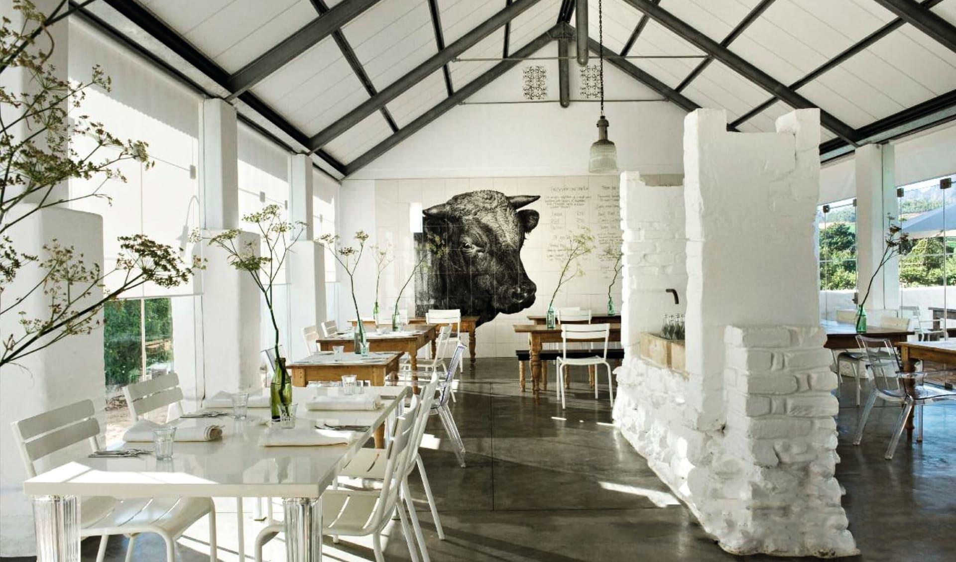 Wonders of South Africa ab Kapstadt: f&b: Babylonstoren Farmhotel - Babel Restaurant