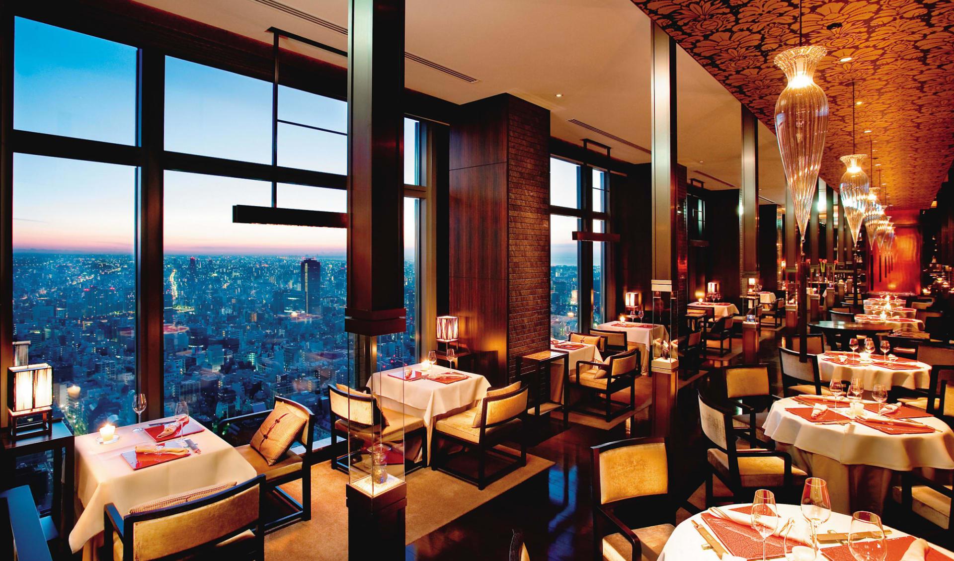Mandarin Oriental in Tokio: Restaurant Sense