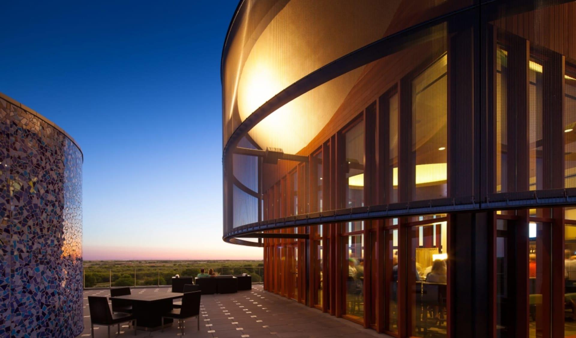 Streamsong Resort & Spa in Tampa:  Streamsong Resort & Spa - Restaurant Terrasse