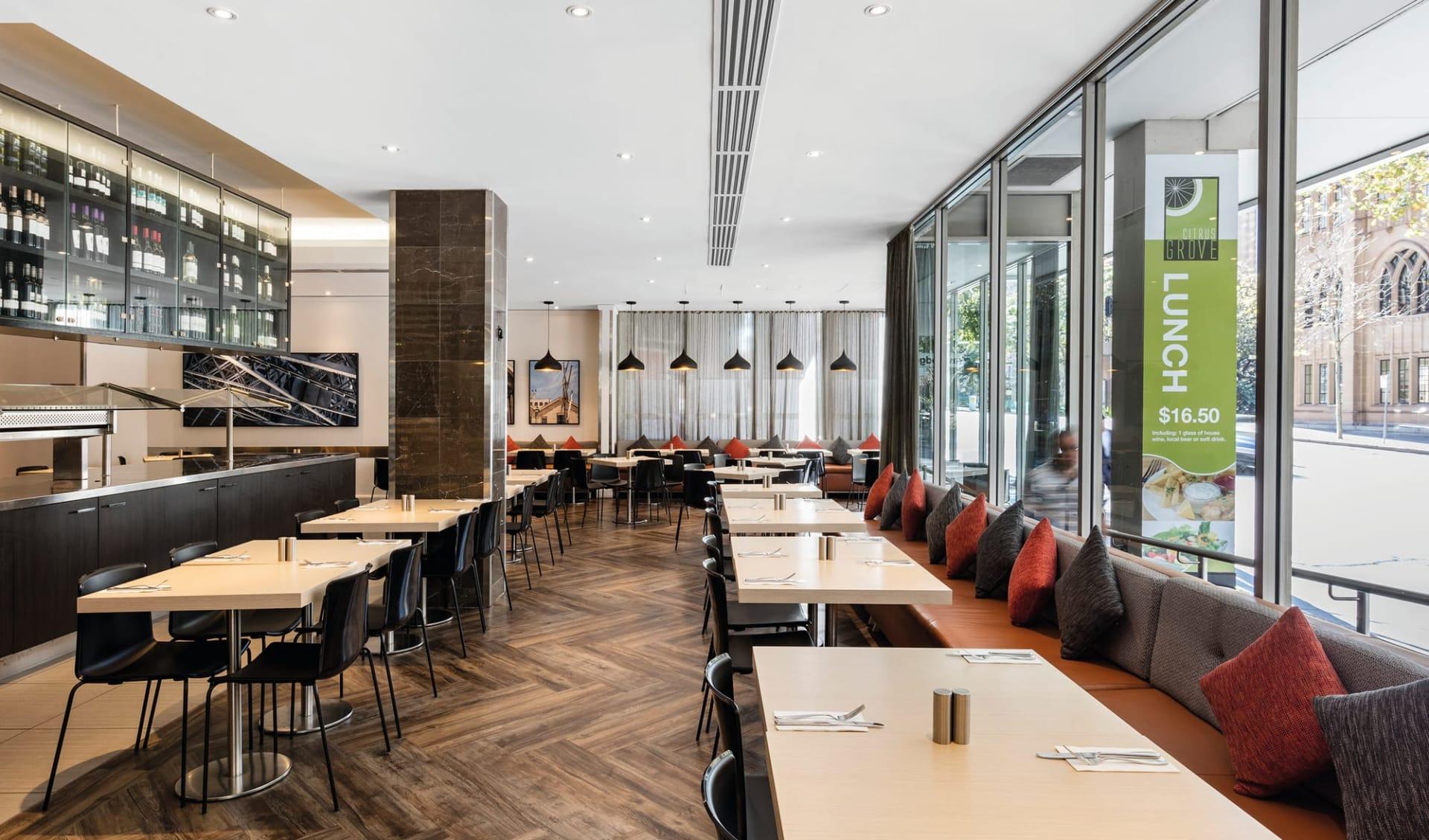 Travelodge Wynyard in Sydney:  Travelodge Wynyard - Hotel-Restaurant Citrus Grove