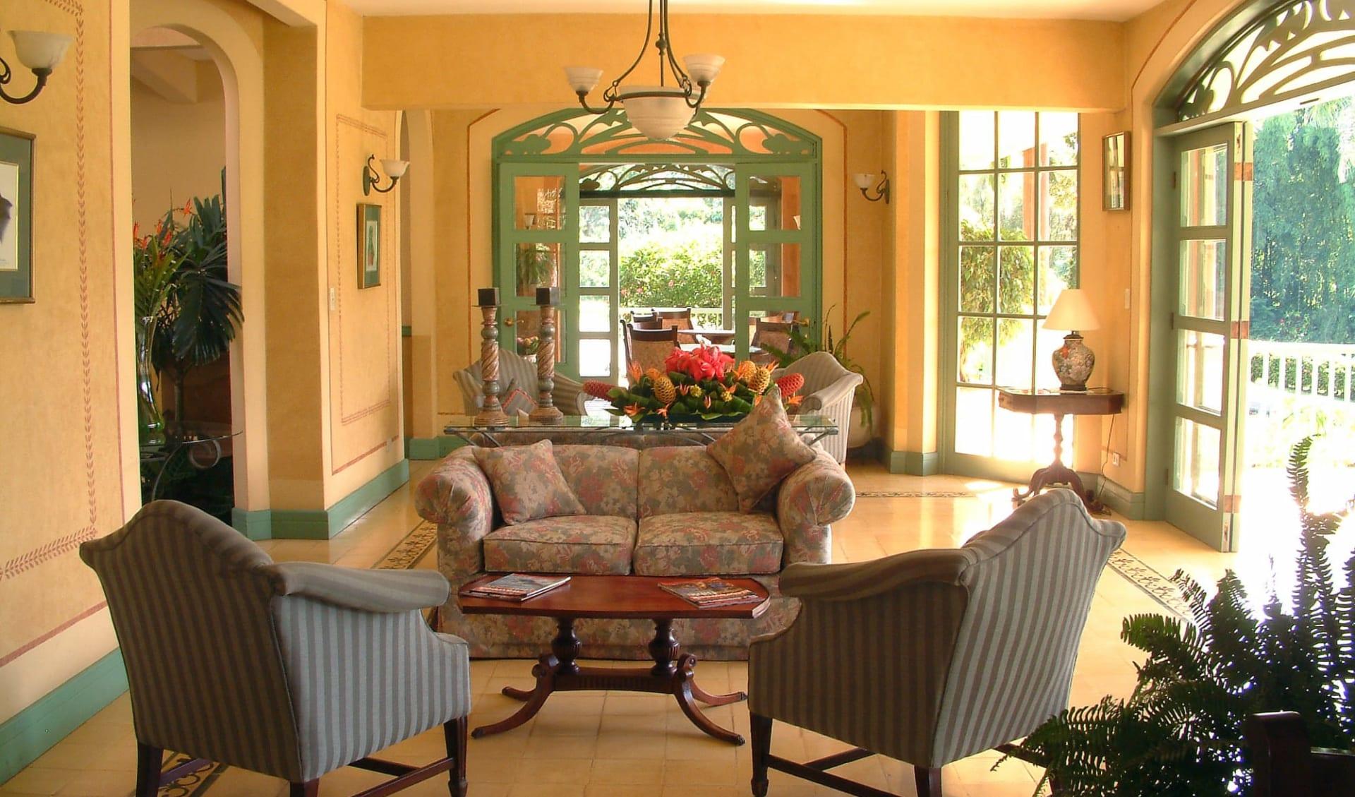 Casa Turire in Turrialba:  Casa Turire Lobby