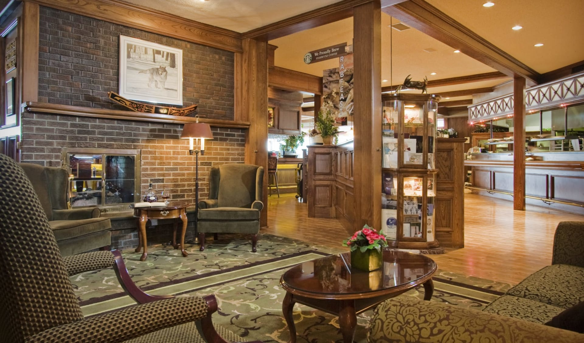 Crest Hotel in Prince Rupert:  Crest Hotel_Lobby