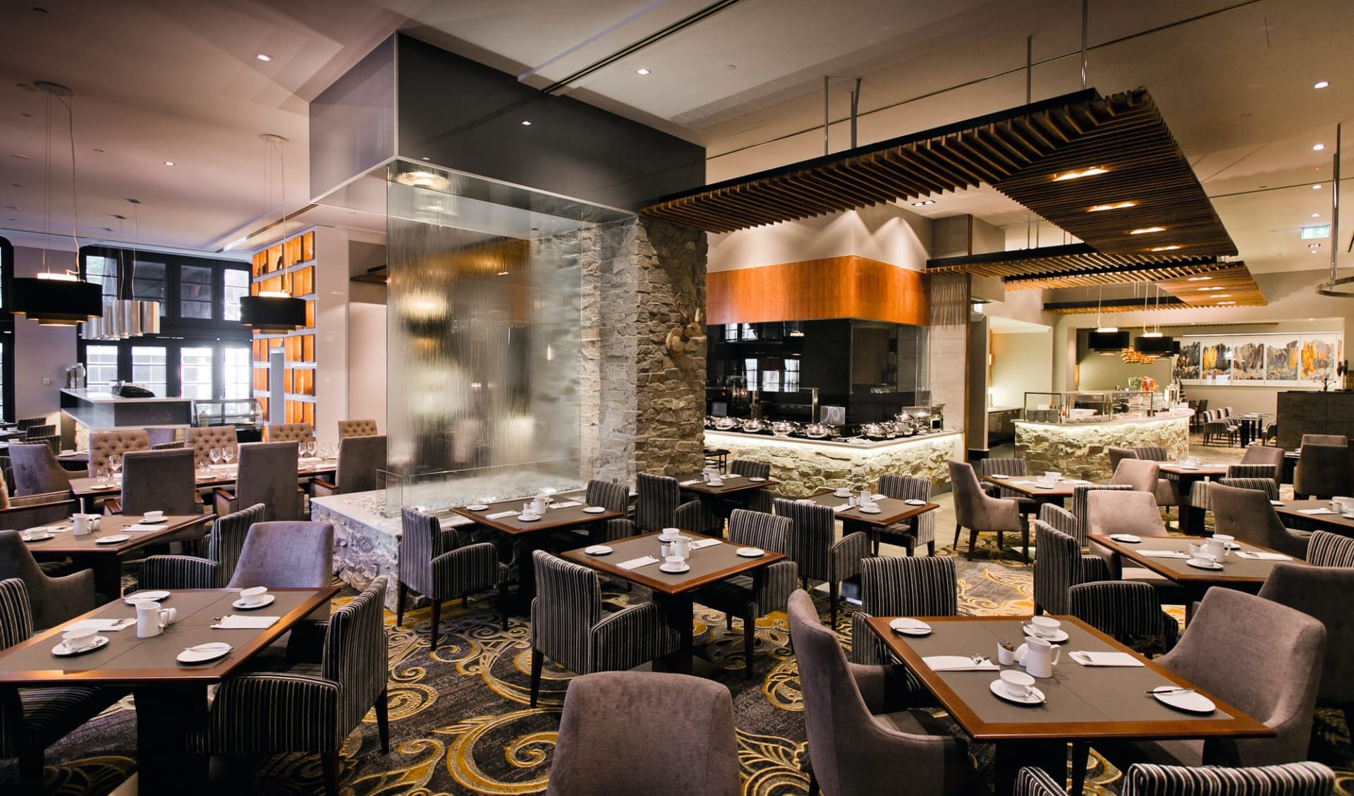 Duxton Hotel Perth:  Duxton Hotel Perth - Restaurant Firewater Grille 2017