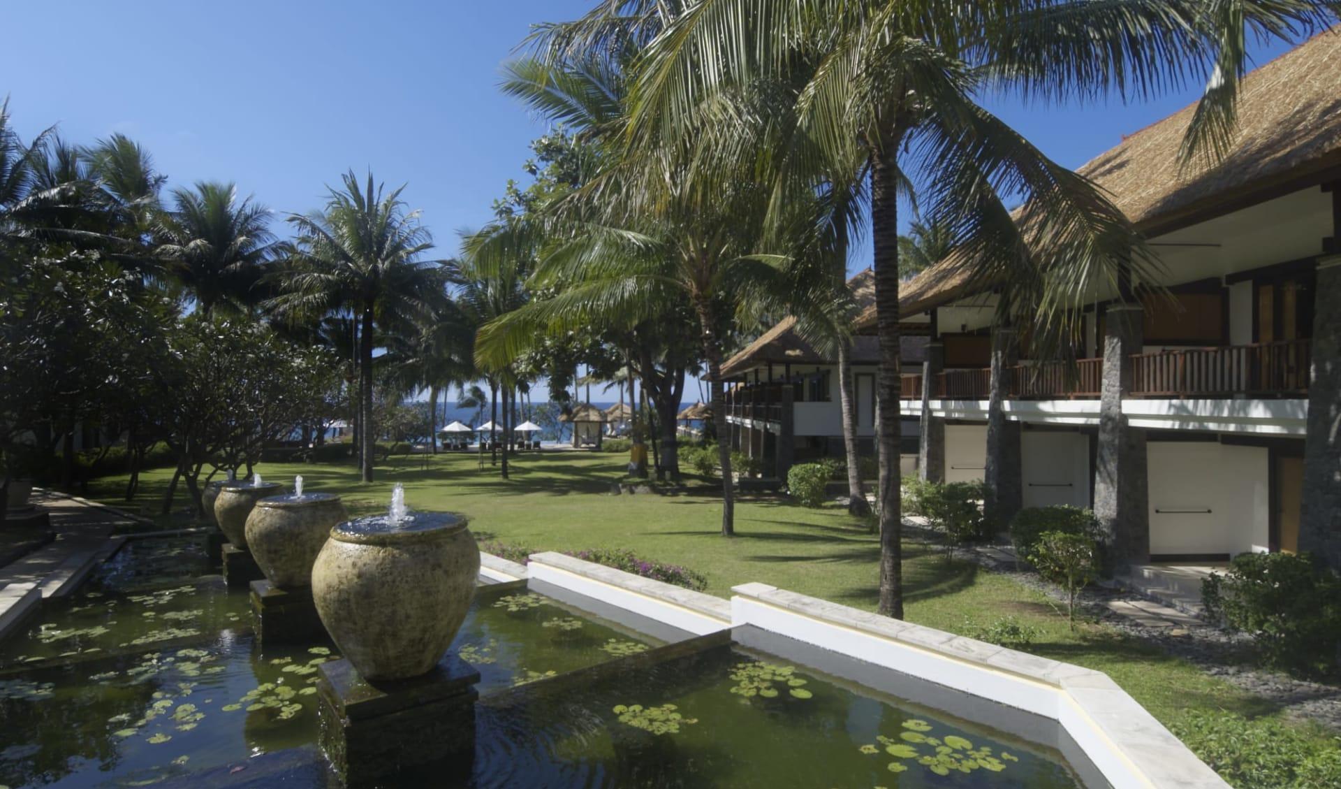 Spa Village Resort in Ostbali: Garden
