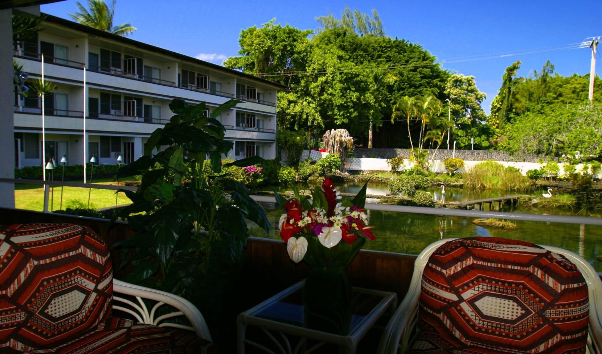 Hilo Hawaiian Hotel:  Hilo Seaside Lobby-BigIsland