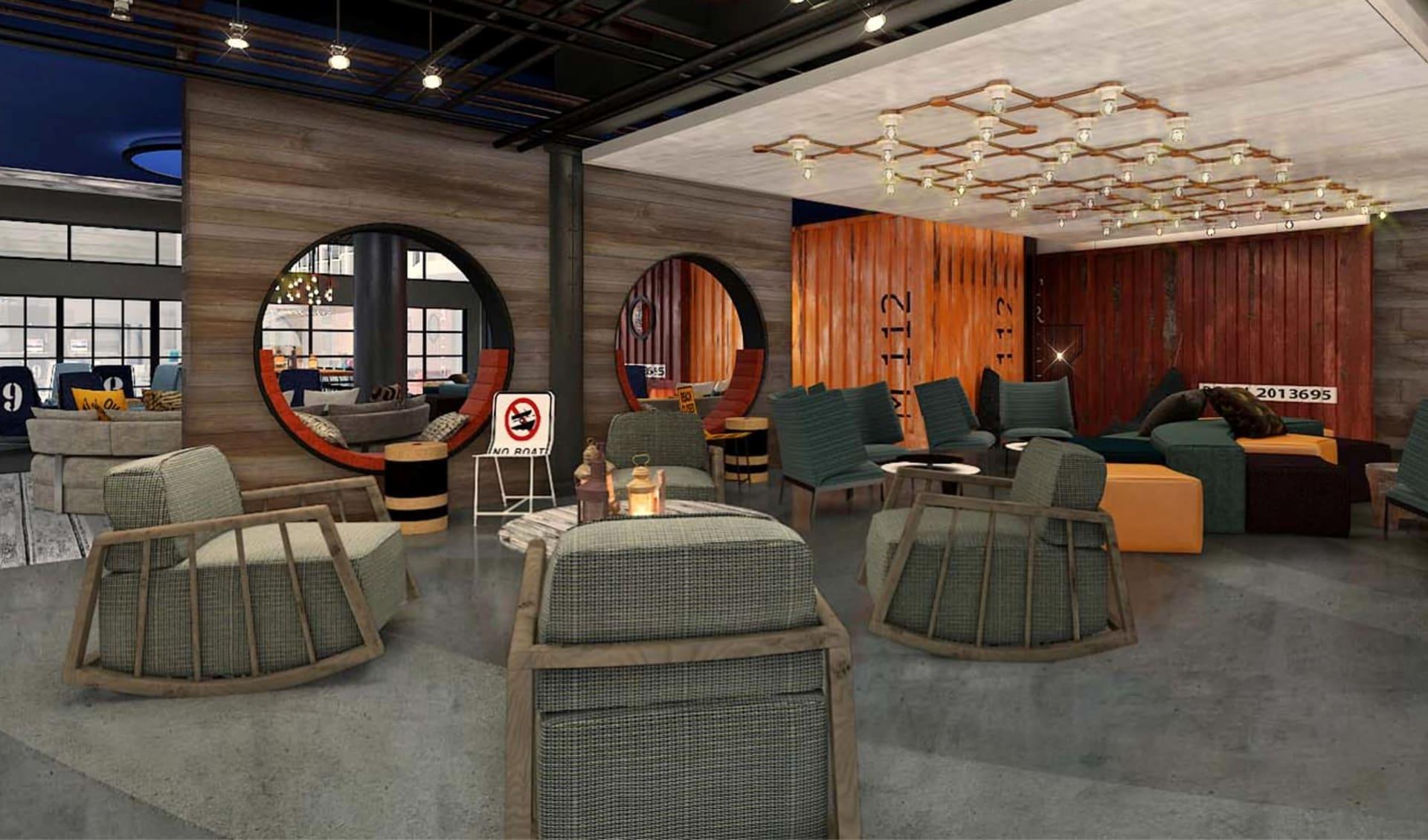 Hotel Zephyr in San Francisco:  Hotel Zephyr_Lobby_ATI