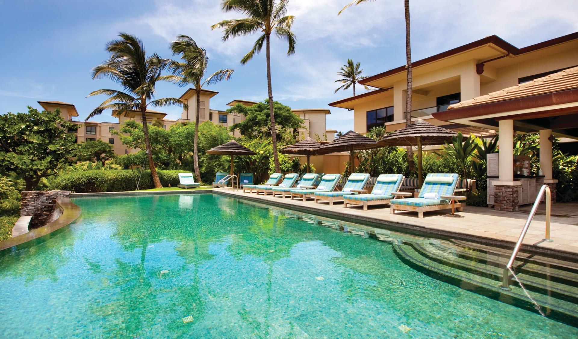 The Kapalua Villas in Kapalua - Maui: Facilities_Kapalua Villas_Pool und Spa-Bereich_ATI