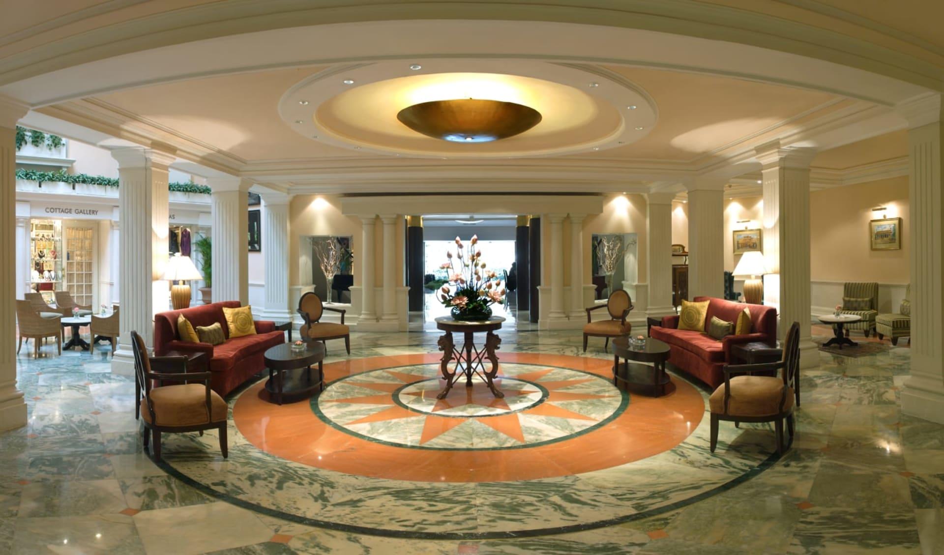 The Claridges in Delhi: Lobby
