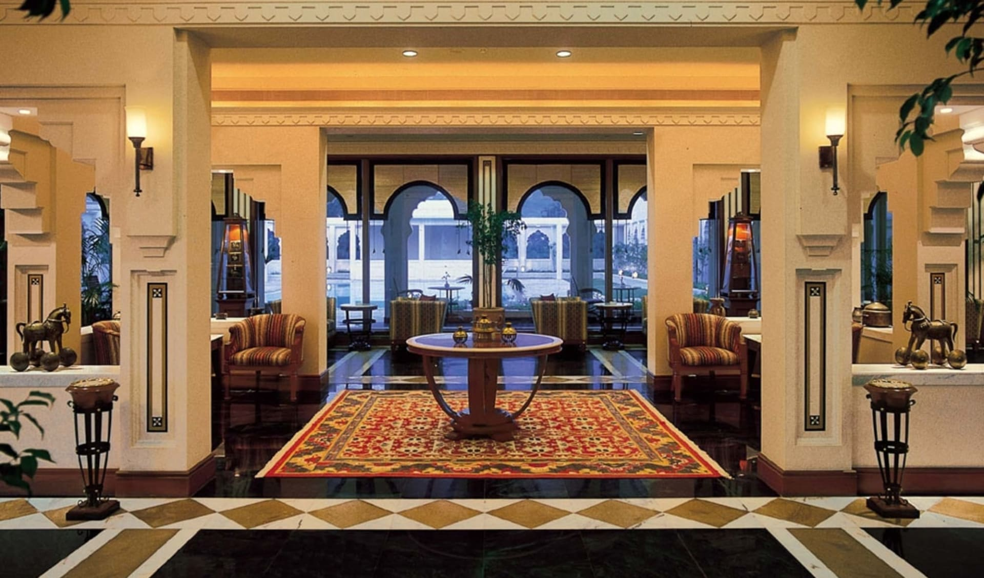 Trident in Jaipur: Lobby