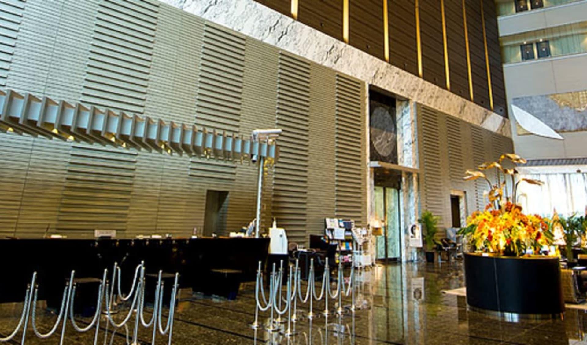 Villa Fontaine Shiodome in Tokio: Lobby