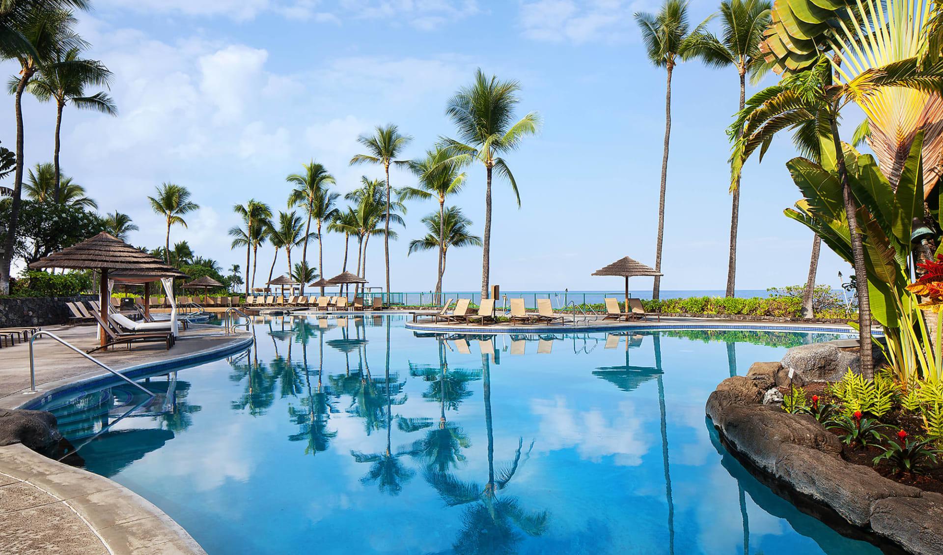 Outrigger Kona Resort & Spa in Kailua-Kona: Facilities_Sheraton Kona Resort_Poollandschaft 2_Hotelchain